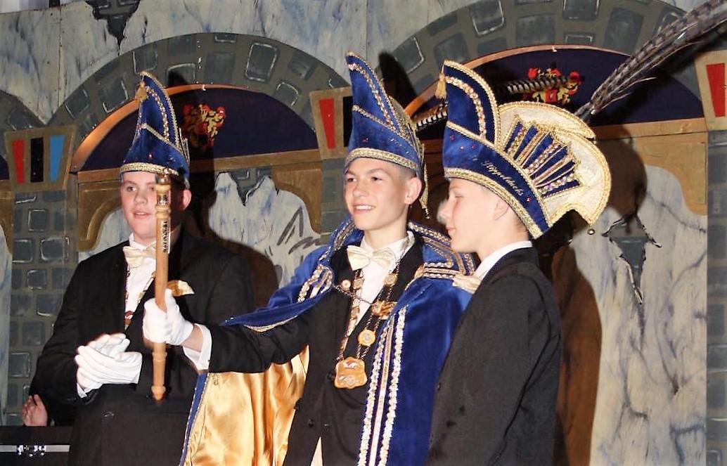 Fabian werd Prins der Stöppelducks