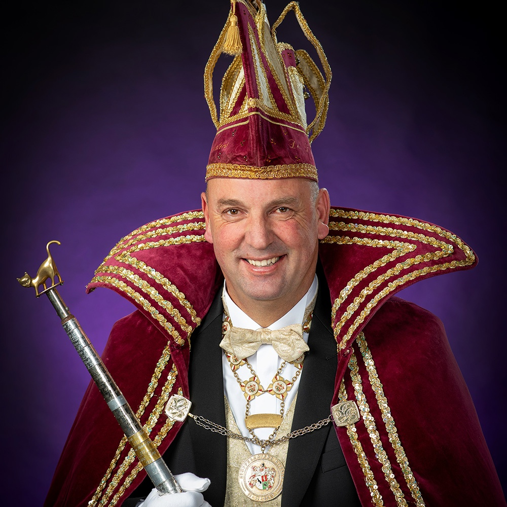 Prins Laurens I nieuwe prins der Stöppelkaters
