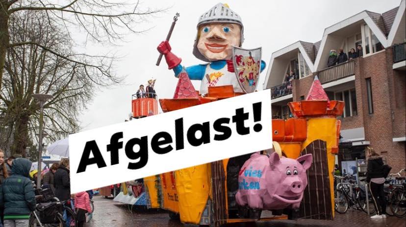 Grote Sallandse Carnavalsoptocht afgelast